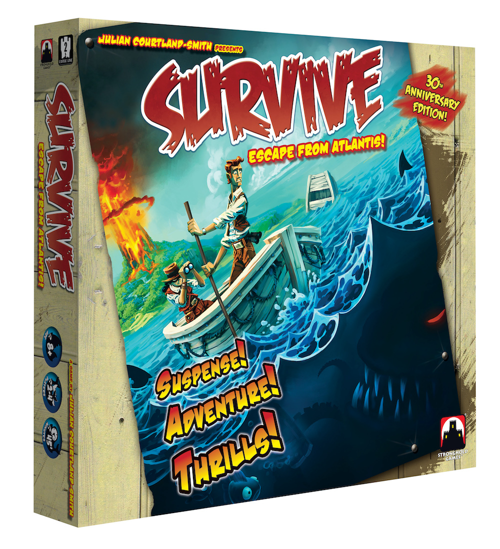 Survive: Escape From Atlantis: 30th Anniversary Edition -  Stronghold Games