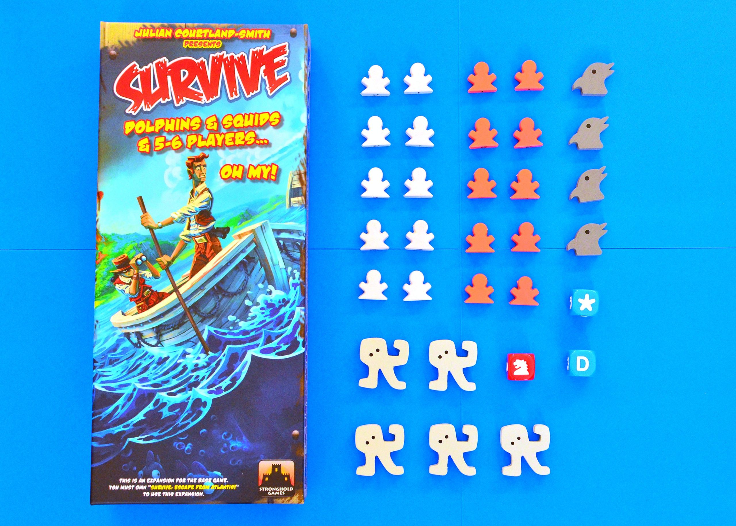 Survive: Dolphins, Squids and 5-6 Players Expansion -  Stronghold Games